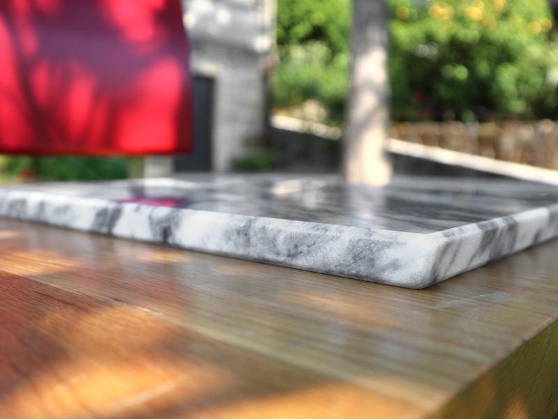 Estremoz marble cutting board - detail