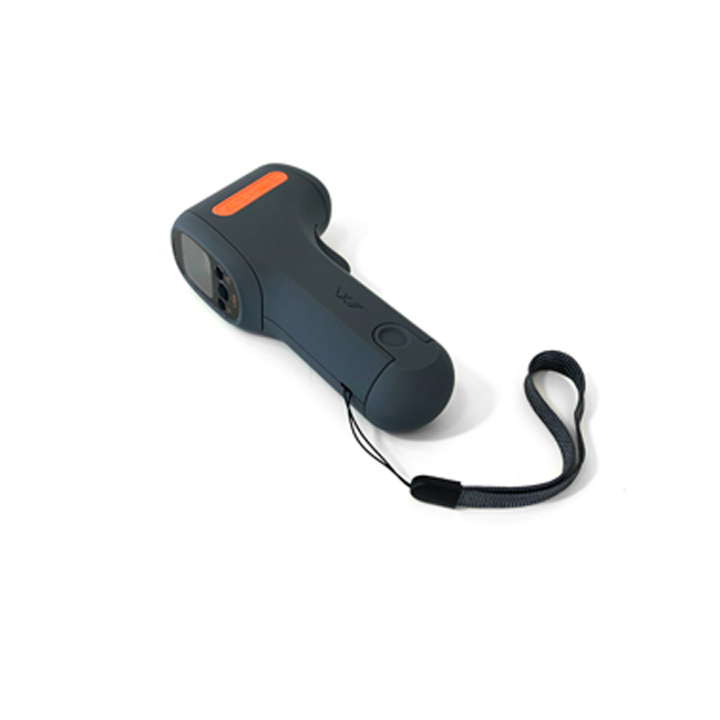 infrared digital thermometer - back view